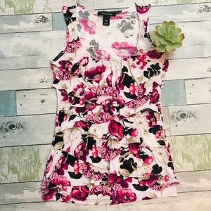💕Stunning💕 White House Black Market Floral Top